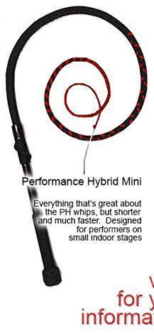 Short Hybrid Whip Paracord