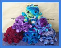 SALE  New Colors Added  Adorable Handmade Crochet