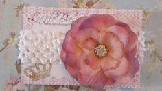 Beautiful Dusty Rose Peony Flower with by littleblessings99, $8.00