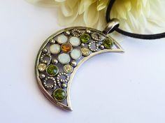 Romantische Mond Halskette in silber verschiedene von Schmucktruhe, €16.50