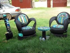 100 DIY Furniture From Car Tires