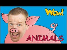 Farm Animals for Kids + MORE   Steve and Maggie with Animals   English S...