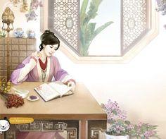 「 潇梦璃月 」书中自有颜如玉