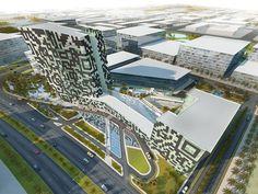 Studio City Hotel / Dubai / S&P architects / http://www.soehnepartner.com/en/projects/studio-city-hotel