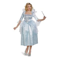 [HALLOWEEN] Disguise Women's Fairy Godmother Movie Adult Deluxe Costume - $32.33 with FREE SHIPING WORLDWIDE! 2 DAYS for ALL USA DELIVERY!!! visit our site ->>> http://HALLOWEEN-CLOTHES.CF
