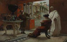 Ettore Forti, Vendor of Antiquities (Rome)