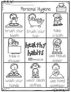 English teaching worksheets Healthy habits Healthy