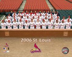 2006 - Cardinals Team Photo Photo Print (20 x 24)