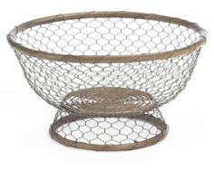 Palembang & Wire Footed Bowl   Williams-Sonoma