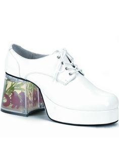 Platform Mens Shoe Fish Heel Mardigras Disco Shoes
