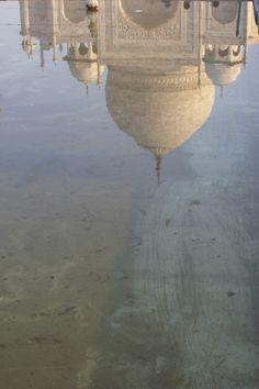 Reflection of the Taj Mahal. Agra, Taj Mahal, Reflection, India, Photography, Architecture, Rajasthan India, Photograph, Photography Business