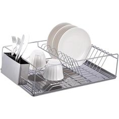 Dish Drying Rack Walmart Glamorous The Best Dish Rack Picks  Counter Space Real Simple And Dish Racks 2018