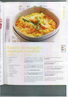 Livro 150 receitas as melhores 2011 Paella, Portuguese Recipes, Shrimp Recipes, Make It Simple, Macaroni And Cheese, Nom Nom, Recipies, Curry, Food And Drink