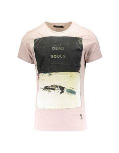 DEAD SOULS TEE - ASH OF ROSES