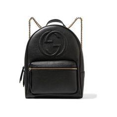 Trend: Rucksack. Soho Rucksack aus strukturiertem Leder von Gucci.