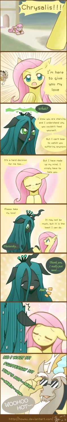 Reforming sequel Chrysalis by HowXu on deviantART