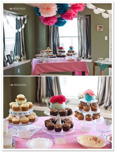 bridal shower idea | bridal shower} Allison's Tea-Themed Party | Borrowed & Bleu