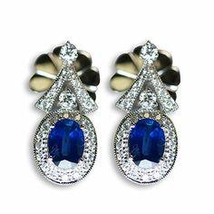 This is another gorgeous colorful gemstone earrings - Parris Jewelers Gemstone Earrings, Drop Earrings, Gemstone Colors, Diamond Engagement Rings, Colorful, Jewels, Gemstones, Bijoux, Gems