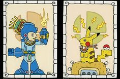 This Artist Reimagined Iconic Nintendo Characters As Beautiful Mayan Paintings