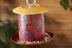 This large-capacity homemade bird feeder can be made from spare PVC pipe cluttering up the garage, or buy a new piece and have it cut at the hardware store. Bird Feeder Plans, Diy Bird Feeder, Humming Bird Feeders, Homemade Bird Houses, Homemade Bird Feeders, Backyard Projects, Diy Projects, Project Ideas, Craft Ideas