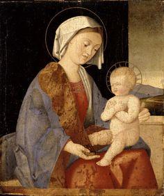 Catena Vincenzo (scuola di) - Madonna con Bambino - 1500-1510 - Accademia Carrara di Bergamo Pinacoteca