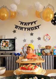 「1歳 バースデー 飾り付け 手作り」の画像検索結果