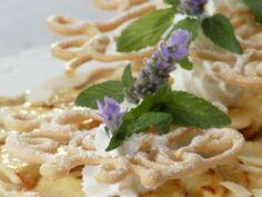 Tarta de manzanas con queso de cabra. El gourmet