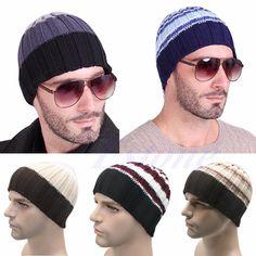 d4d188bdfcf Fashion Women s Men s Hat Unisex Warm Winter Knit Cap Hip-hop Beanie Hats  Black