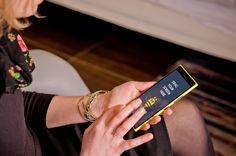 Woman with Nokia Lumia HD PSD #Nokia #nokia lumia # digital # mobile # lumia # woman # freelance #