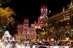 Palacio de las Comunicaciones   Cibeles Palace   Madrid, Spain
