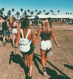 Me and Brynna when we go to festivals lol