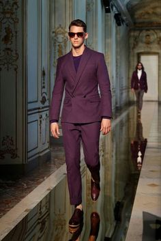 Ports 1961 Spring 2014 Menswear Fashion Show Suit Fashion, Fashion Show, Mens Fashion, Fashion Menswear, Milan Fashion, Casual Suit Jacket, Slim Fit Suits, Inspiration Mode, Fitted Suit
