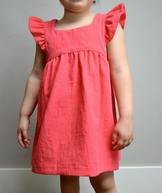 Bohemian Babydoll Dress and Top PDF Pattern - Would be super cute in F14 NI metallic flannel