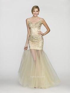 BG Haute Spring/Prom 2014 style #G3200 Champagne. www.bghaute.com