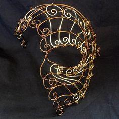 Womens bronze and brass wire steampunk by gringrimaceandsqueak