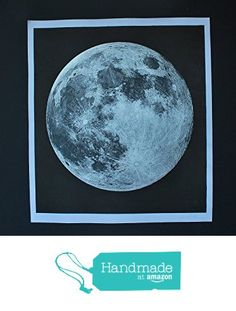 Moon Print Signed Moon Rise serigraph and silkscreen, Space Science Celestial Space and Science The best since 2008 from AgentGallery https://www.amazon.com/dp/B015JSTSBO/ref=hnd_sw_r_pi_dp_oNtPxb4C6Q8JG #handmadeatamazon