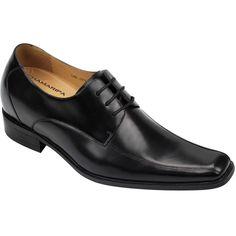 2015 Fashion New Men Wedding Black Dress height increasing shoes Look Taller #J2951