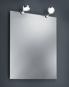 282180206 Trio - LED svetlá na zrkadlo do kúpeľne - 2ks/sada