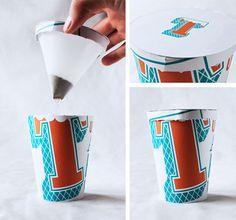 TEA TO GO - PACKAGING by Frederic Dupuis, via Behance