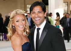 Kelly Ripa Calls Mark Consuelos 'The D In In Raunchy Birthday Message Days After Bikini Photo Backlash Celebrity Couples, Celebrity News, Kelly Ripa Mark Consuelos, Days Of Our Lives, Birthday Messages, Just Smile, Bikini Photos, Cheerleading, Daddy