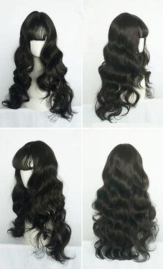 Kawaii Hairstyles, Pretty Hairstyles, Wig Hairstyles, Hair Inspo, Hair Inspiration, Lolita Hair, Cosplay Hair, Cosplay Wigs, Hair Reference