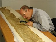 Dead Sea Scrolls Examination - Possibly the coolest archeological experience you will have in Israel, in the most bizarre architectural structure...