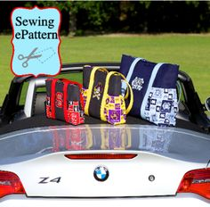 Tailgate Teammate Tote Sewing Pattern   YouCanMakeThis.com