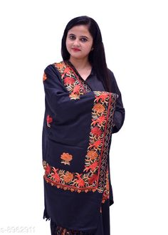 Shawls NO.6250 (BLACK) Fabric: Acrylic Pattern: Embroidered Multipack: 1 Sizes:  Free Size (Length Size: 2 m)  Country of Origin: India Sizes Available: Free Size   Catalog Rating: ★4.2 (491)  Catalog Name: Ravishing Attractive Women Shawls CatalogID_1543581 C74-SC1011 Code: 965-8962911-948