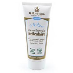 Crème Thermale Articulaire Ballot-Flurin Tendon, Propolis, Agriculture Biologique, Hygiene, Home Remedies, Creme, Personal Care, Muscles, Products