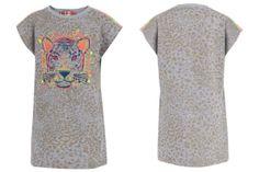 Anne Kurris spring summer 2014, grey cotton sleeveless dress #animalkingdom #annekurris #childrens #kids #childrenswear #kidswear #kidsfashion #girls #boys