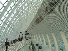 Gare Avignon TGV (Avignon, 2001) | Structurae  RFR