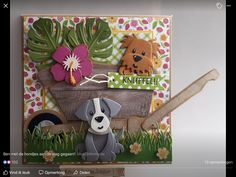 Dog Cards, Kids Cards, Marianne Design Cards, Christian Cards, Elizabeth Craft, Die Cut Cards, Paper Cards, Box Art, Paper Piecing