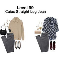 Level 99 Caius Straight Leg Jean via Stitch Fix
