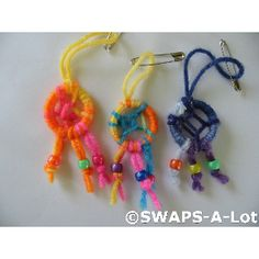 SWAPS-A-Lot - Mini Dream Catcher SWAPS Kit for Girl Kids Scout (25)